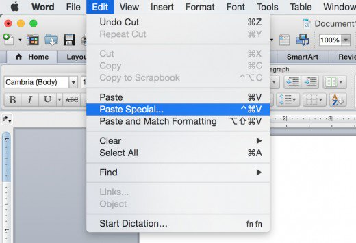 word-paste-special-option