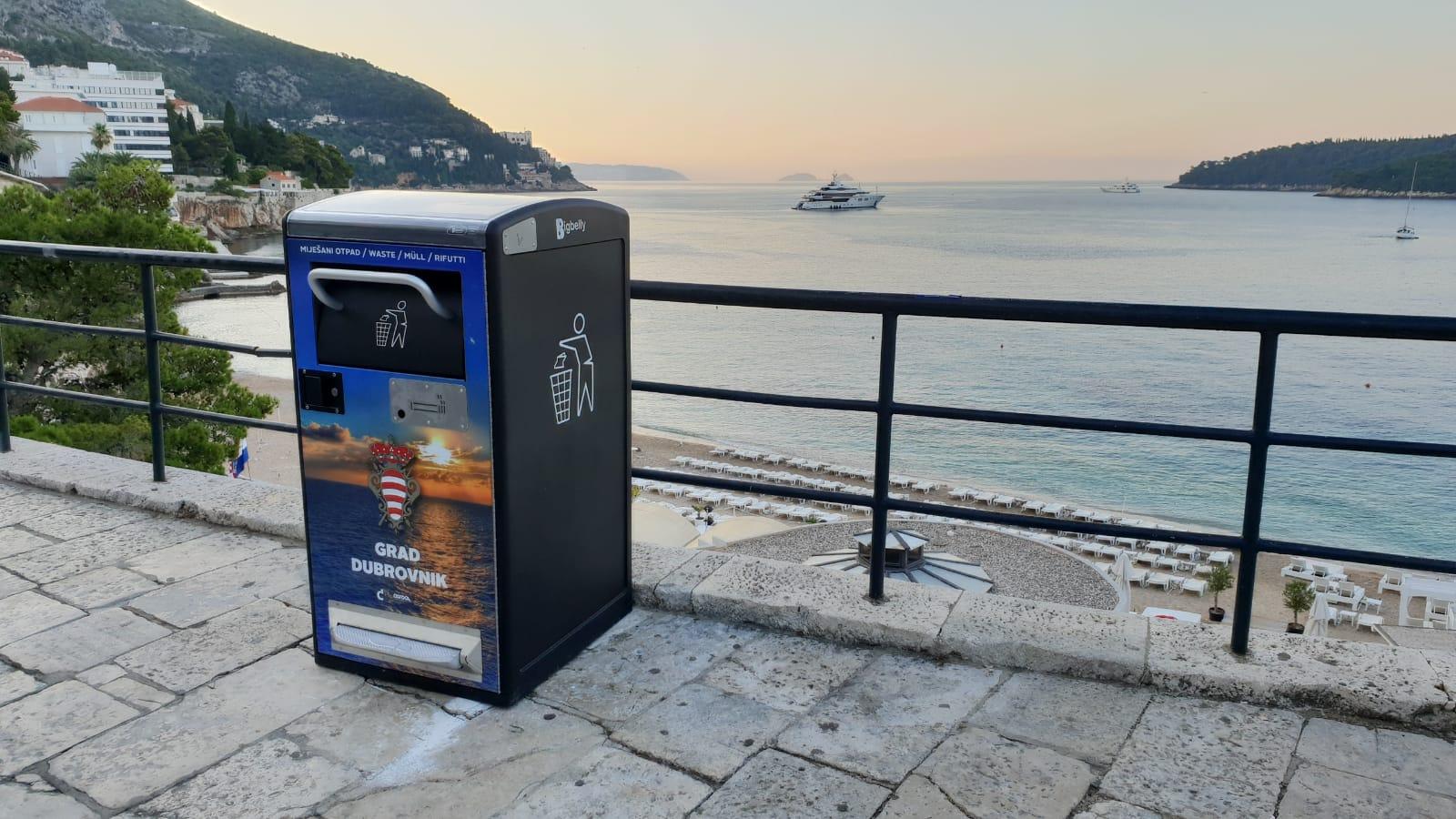 Čistoća_Dubrovnik-BigBelly_tehnologije-upravljanje_otpadom